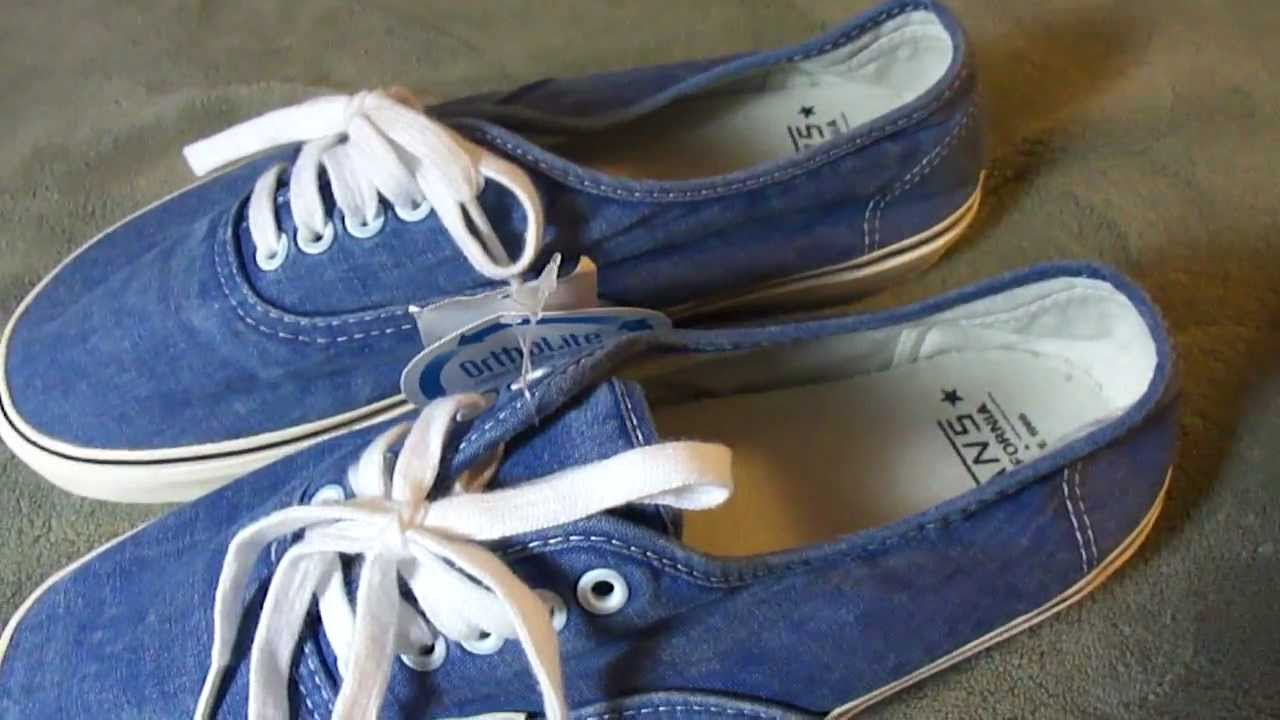 86913850c3 Shoe Review  Vans CA  Washed  Authentic - YouTube