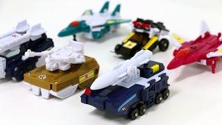 Transformers Victory KO Mini Liokaiser 6 Combo Vehicle Combination Robot Car Toys