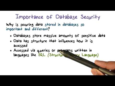 importance of use of database Ten ways databases run your life posted on september 10 this cross-referencing of data is immensely complex and uses highly reliable and capable database.