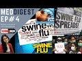 स्वाइन फ्लू के बारे में जानकारी Swine Flu jankari Symptoms Cure Treatment H1N1 Virus #MEDDIGEST 4