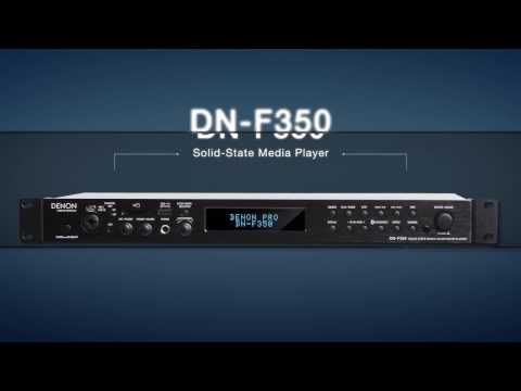 Denon DN-F350 Solid-State Media Player with USB - Bluetooth - SD/SDHC