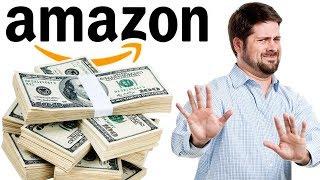 Gambar cover Почему нельзя даже думать о том, стоит ли начинать бизнес с Amazon