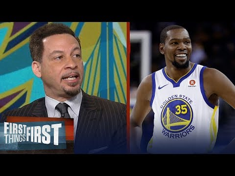 Chris Broussard talks Warriors-Cavaliers and Oklahoma City's resurgence | FIRST THINGS FIRST
