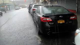 Bronx NY Flash Flood Warning 9/25/18