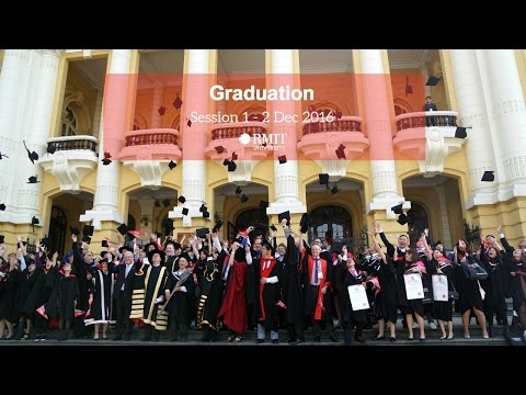 RMIT Vietnam Graduation 2016 - Session 1 (Hanoi campus)