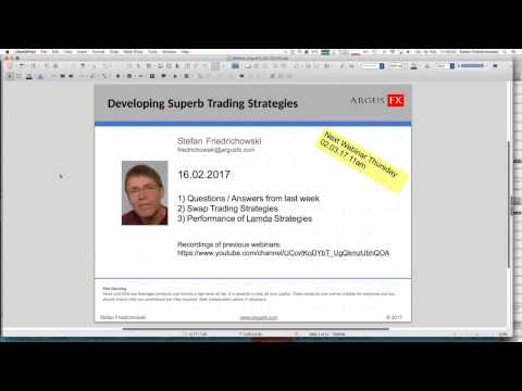 Developing Superb Trading Strategies 20170216