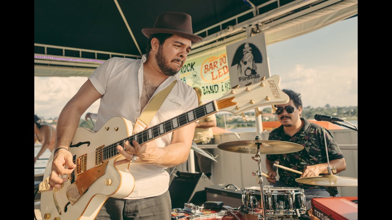 HIGHER GROUND - Procurados Blues Band - Piratas do Rock (Lago Paranoá)