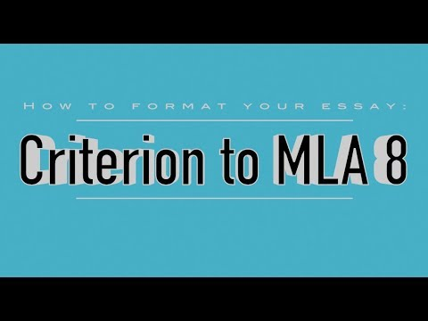 Personal Essay Samples For High School How To Format Your Criterion Essay Into Mla  English Short Essays also Sample Essays For High School Students How To Format Your Criterion Essay Into Mla   Youtube University English Essay