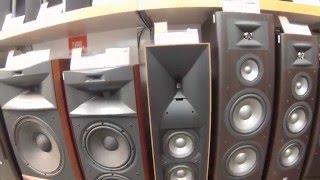 Speaker Section Walkthrough in Japan (Yodobashi Camera)