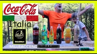 Repeat youtube video Coke + Chinotto neri + Fanta + Mentos + Sprite + Schweppes