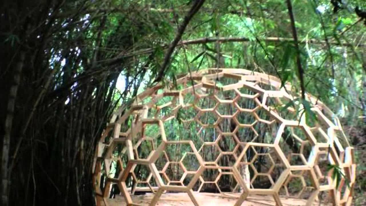 23ft Geodesic Dome Made From Six Sided Bucky Fuller