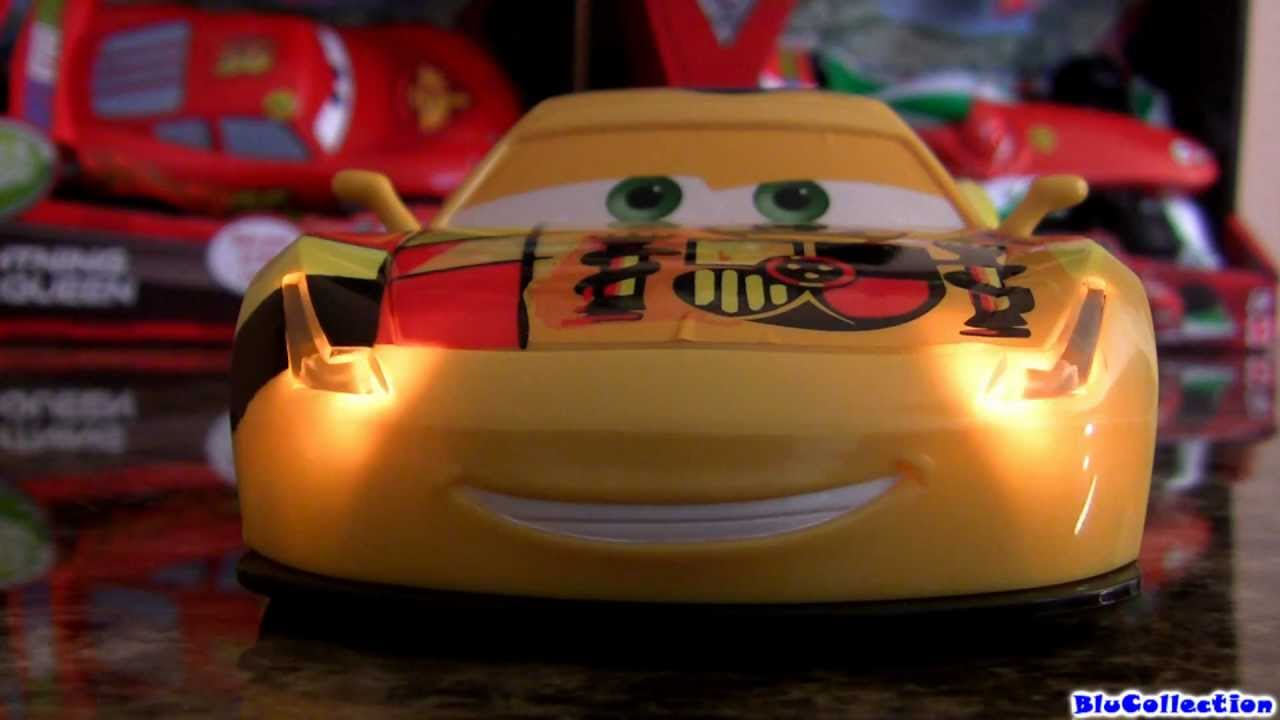 Racer miguel camino lights n sounds 1 24 scale huge cars 2 disney pixar toy review by - Coloriage cars 2 miguel camino ...
