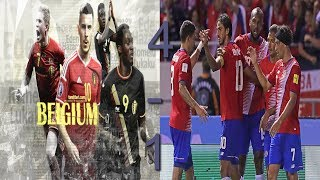 Belgium vs Costa Rica 4-1 - All Goals & Extended Highlights - Friendly 11/06/2018