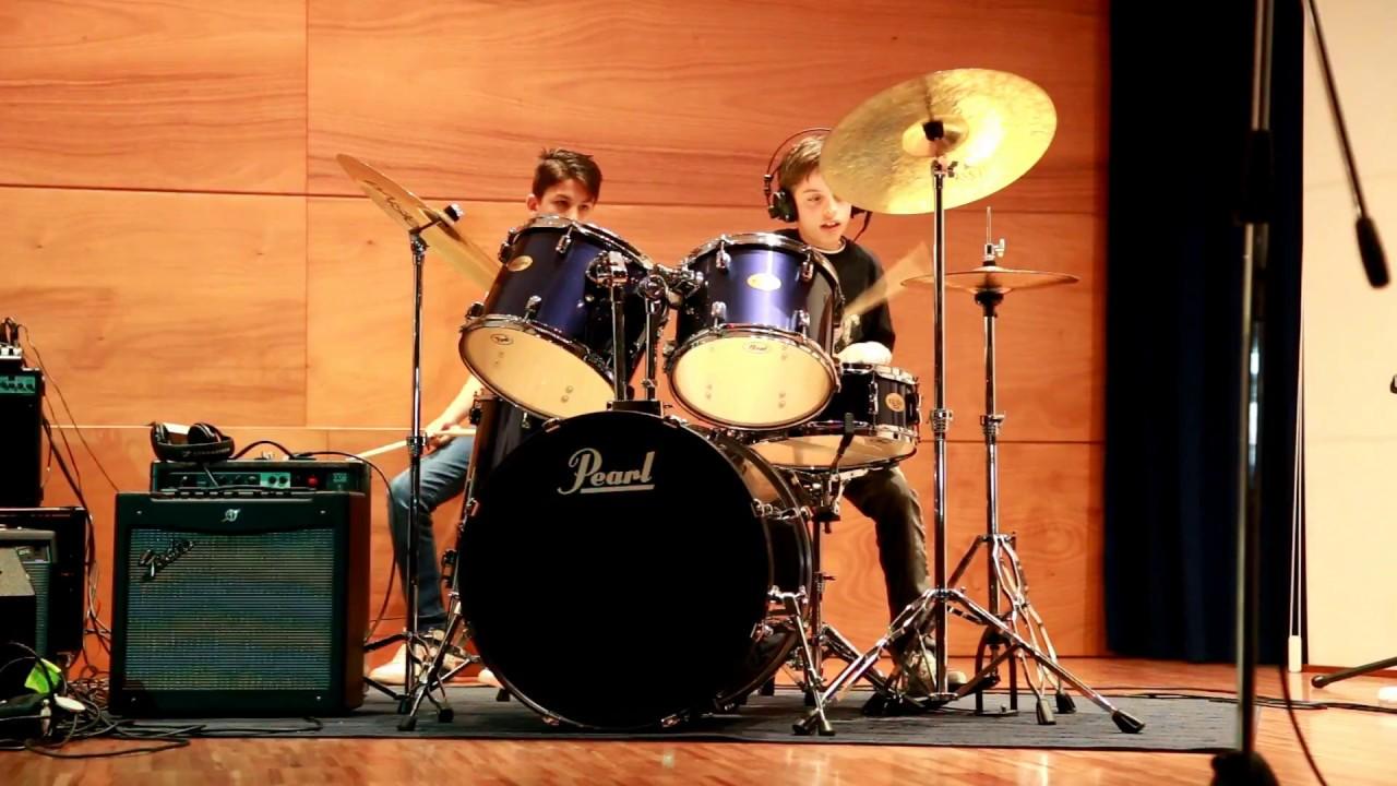 U2 Vertigo - (Bruno Monteleone Cover Drums)