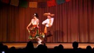 """Agua Azul - """"El Jarabe Tapatío"""" Baile de / Tanz aus Jalisco, Mexico"""