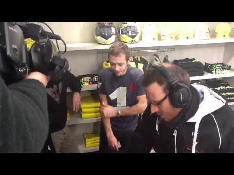 Backstage Valentino Rossi Live Chat Dainese