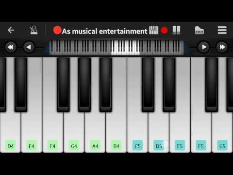 Dil ne yeh kaha hai dil seperfect pianoAmit shuklaAs musical entertainment
