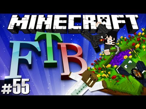 Minecraft Feed The Beast #55 - Twilight Forest Re-entry!