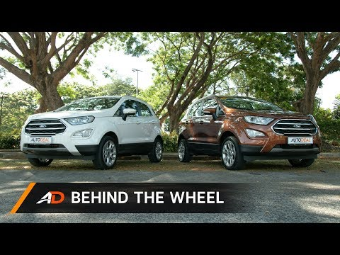 2019 Ford EcoSport Review - Behind the Wheel
