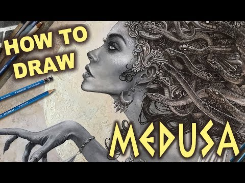 DARK FANTASY ART TUTORIAL - MEDUSA