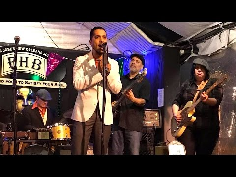 "Aki Kumar with Laura Chavez - ""It's You Baby"" - Live @ The Poor House Bistro"