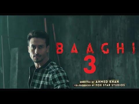 Baaghi 3 Official Teaser Trailer Tiger Shroff Katrina Kaif