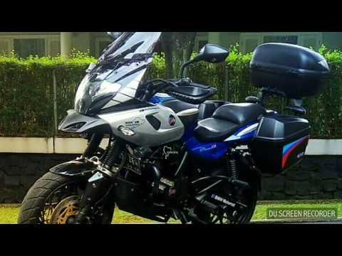 Bajaj Pulsar Adventure touring Jakarta Indonesia