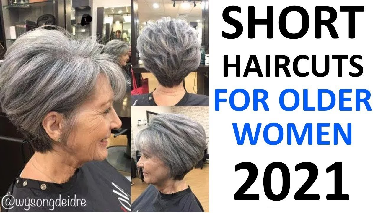 Short Haircuts 2020 For Older Women 50 Plus Youtube