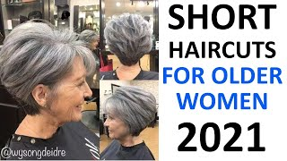 SHORT HAIRCUTS 2020! FOR OLDER WOMEN 50 PLUS