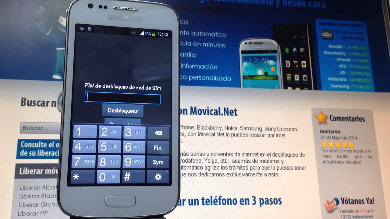 Liberar samsung galaxy ace 3 s7275r en movical net youtube - Movical net liberar ...