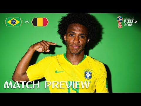 WILLIAN (Brazil)  - Match 58 Preview - 2018 FIFA World Cup™