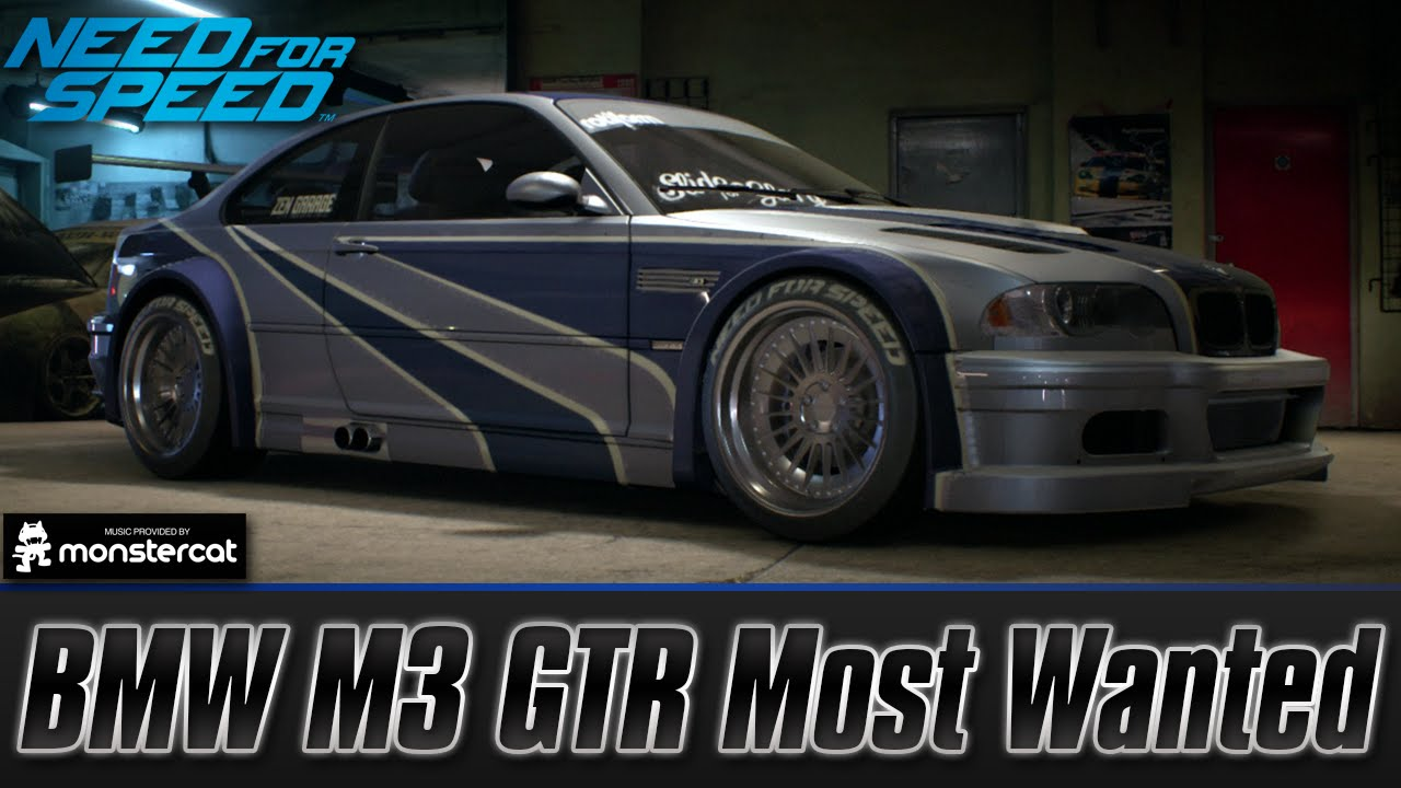 Need For Speed 2015 Bmw M3 Gtr Most Wanted Customization Test Drive