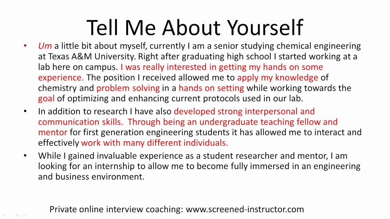 introduce yourself english essay