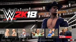 WWE 2K18 PS4/XB1- Arenas, Stadiums ,Venues & Match Types - Gameplay Notion/Concept