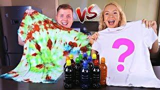 3 Цвета ТАЙ ДАЙ Челлендж 😍 3 Colors Tie Dye Challenge ЗАКРУТИ и Покрась НОВЫЙ Челлендж для детей