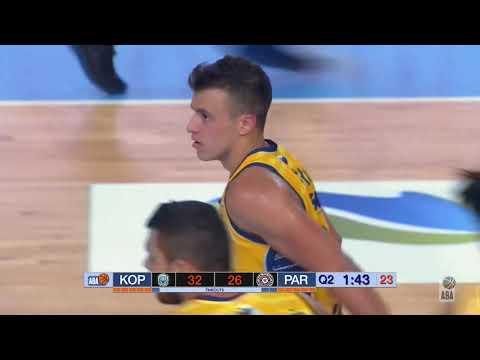 ABA Liga 2019/20 highlights, Round 2: Koper Primorska - Partizan NIS (12.10.2019)