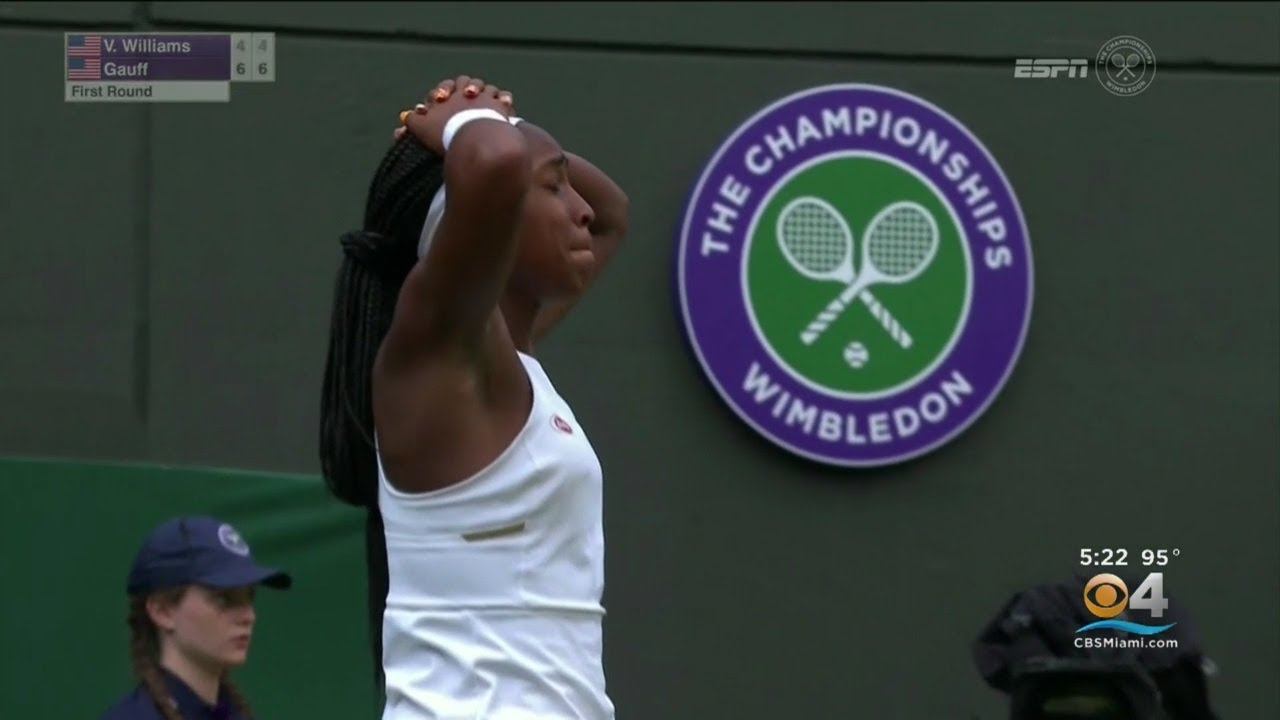 Cori 'Coco' Gauff, 15-year-old American, storms back for another Wimbledon upset