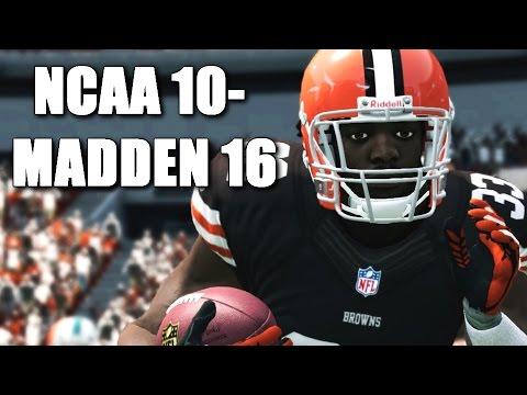 Trent Richardson Through The Years - NCAA Football 10 - Madden 16