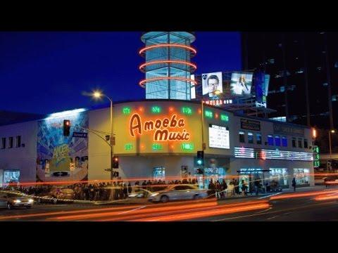 A Walk Around The Amazing Amoeba Record Store