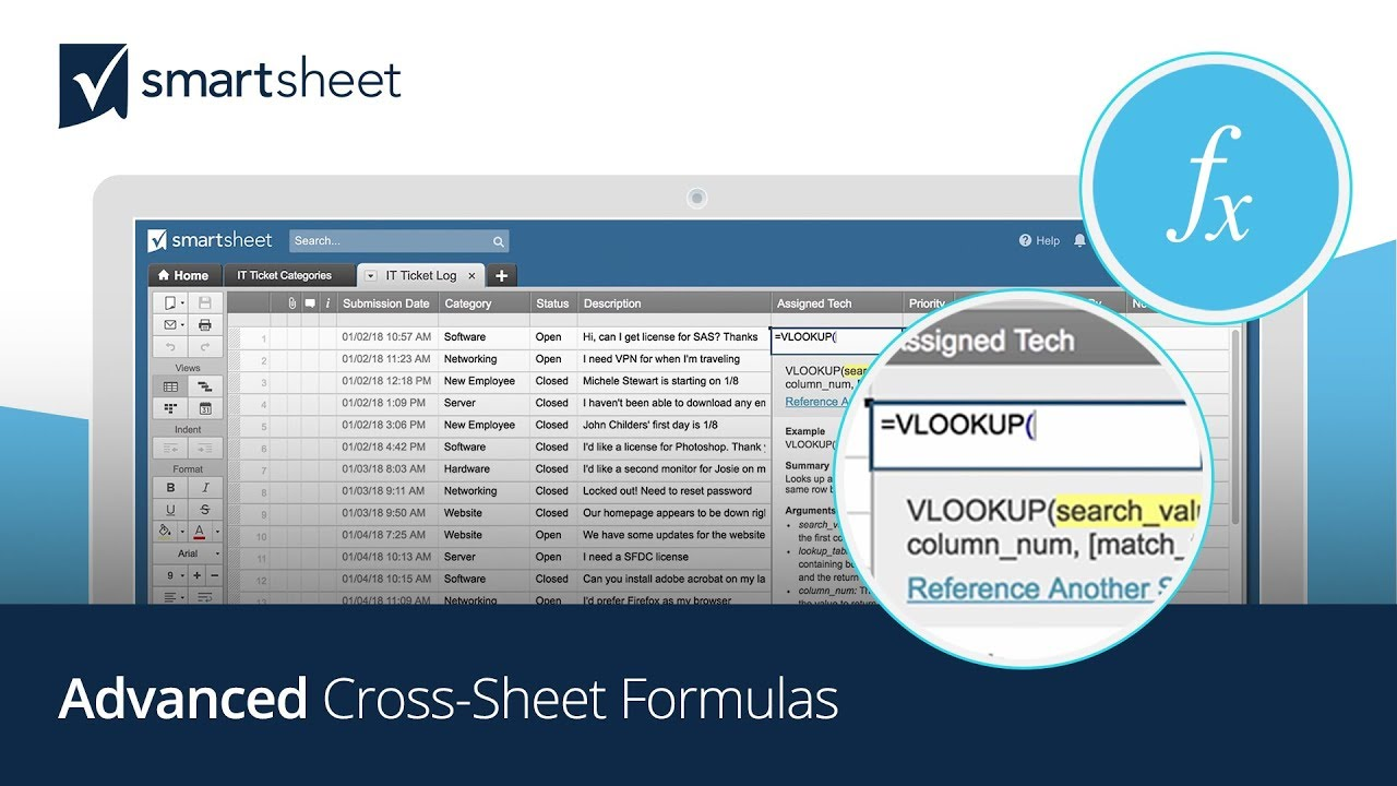 Make Smartsheet More Powerful and Flexible with Cross-Sheet