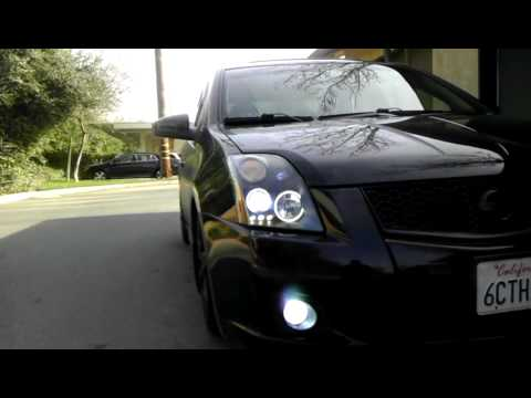 Spec V Dual Halo Headlights Youtube