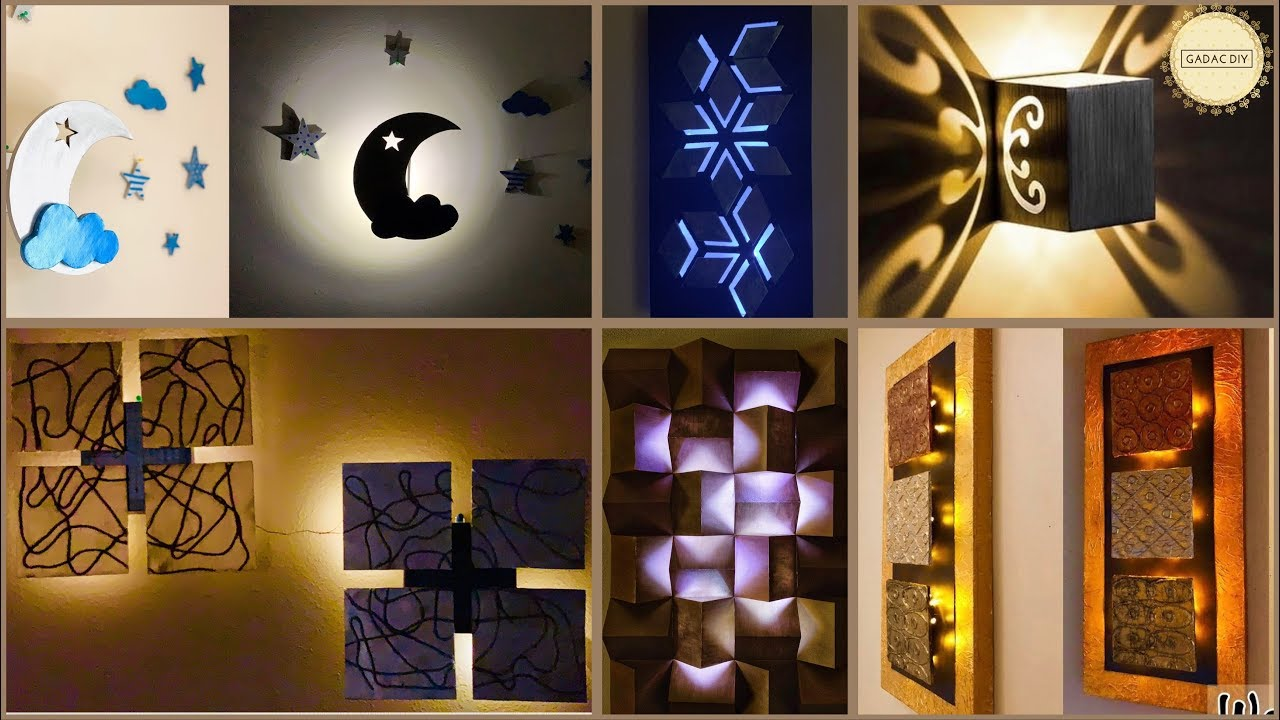 6 Unique Room Decor Ideas  Gadac Diy  Craft Ideas  Room Decorating Ideas   Diy Crafts  Diy Home Decor