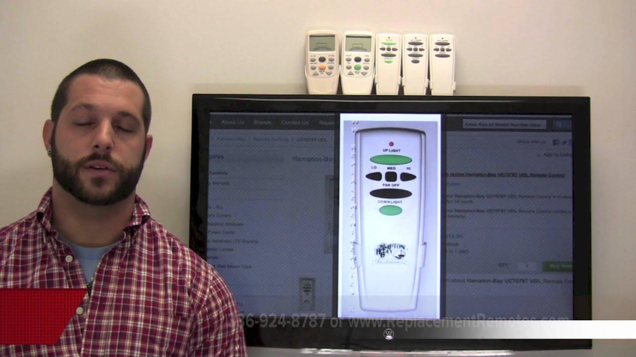 Hampton bay ceiling fan remote & wall controls ceiling fan.