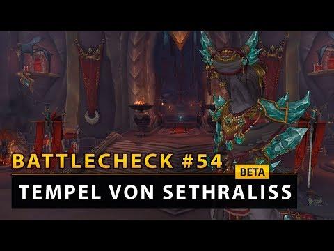 WoW Battlecheck - Dungeon: Tempel von Sethraliss   Battle for Azeroth