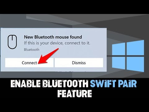 How to Enable Bluetooth Swift Pair Feature on Windows 10