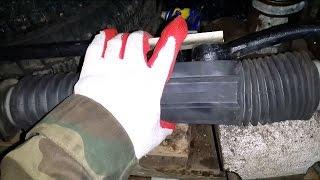замена рулевой рейки(Замена рулевой рейки дело простое вы вполне можете отказаться от услуг автосервиса и сделать всё своими..., 2014-11-27T19:34:01.000Z)