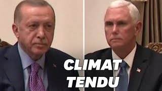 Pence et Erdogan gagnent la palme de la rencontre la plus froide
