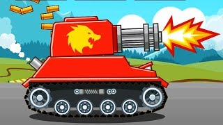 Hills of Steel TANK REAPER Hack / Video For Kids Mobile Game for Kids Android Gameplay 2017