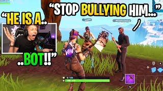 I BULLIED my friend to see if anyone would DEFEND him in squads fill... (experiment)
