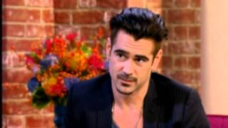 Colin Farrell makes Holly Willoughby Blush - This Morning